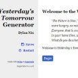 MC: Dylan Nix Players: Lindsay Nix, Noam Rosen, Karen Twelves, and Sean Nittner System: Yesterday's Tomorrow Dylan has started up a playtest group to help playtest amultitude of games in […]