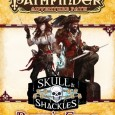 GM: Sean Nittner Players: Karen Twelves, Meg Pressley, Rocko Moran, and Adrienne Mueller System: Pathfinder Adventure Path: Skull and Shackles Day 13 During the day, as most of the crew […]