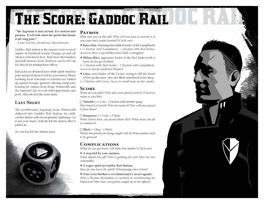 The Score - Gaddoc Rail