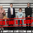 GM: Kristin Firth Players: Sean Nittner, Fred Hicks, Carrie Harris, and Ian Hanrahan System: Everyone's A Suspect Kristin gave a 30 minute demonstration of Everyone's a Suspect. We played through some […]