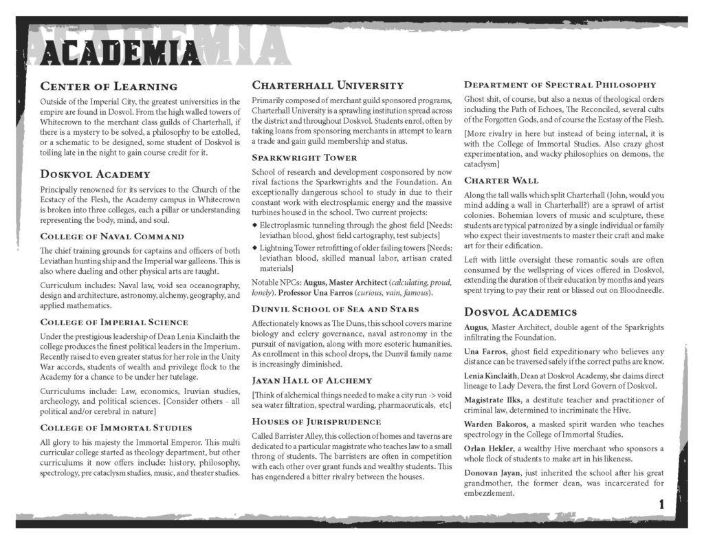 Dosvol Academia